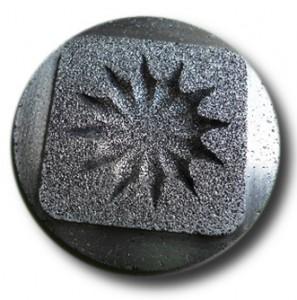 Empreintes de moules matériaux frittes