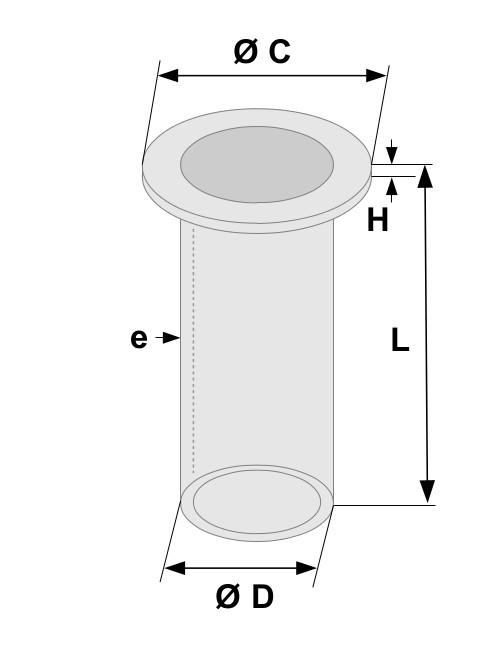 Schema cartouche métal fritte
